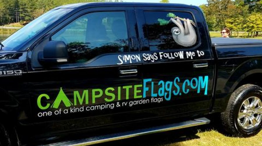 Campsiteflags.com Gets a Vehicle Wrap
